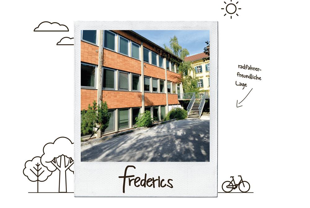 frederics - Wohnen im Innenhof